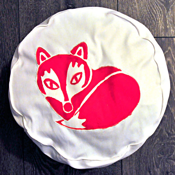 DIY Fuchs-Kissen