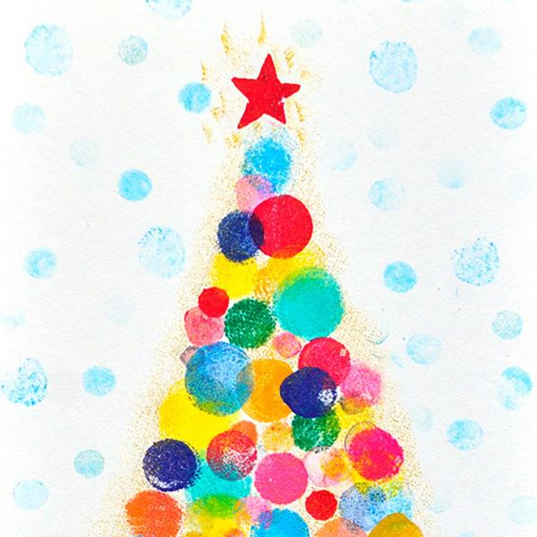 miss_red_fox_gestempelte_Weihnachtskarte_