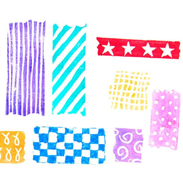 DIY Washi Tape Stempel