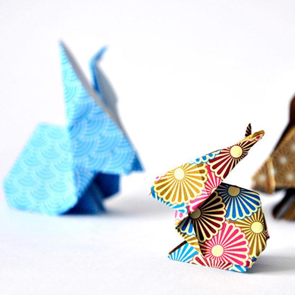 Origami: Die Hasen sind los…