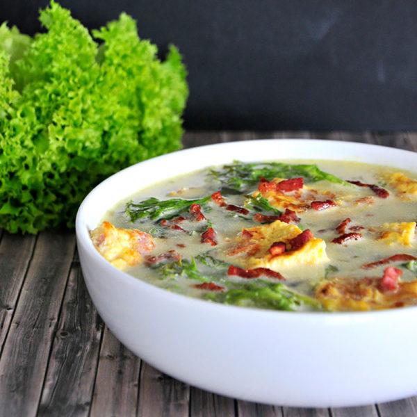 Salat-Suppe (Ciorba de Salata)