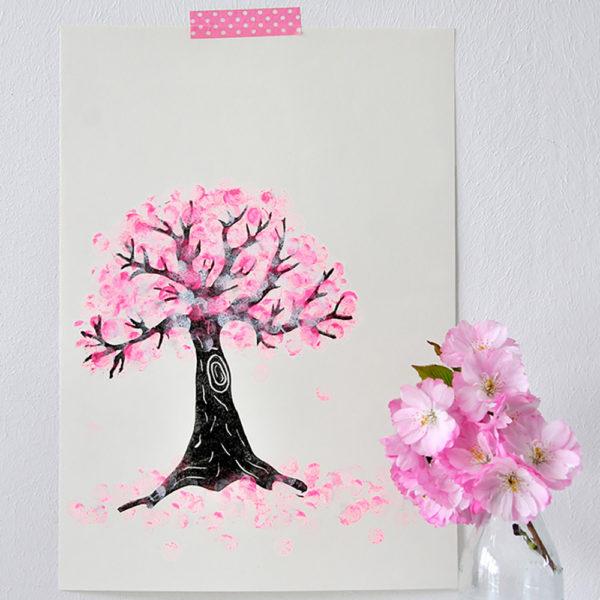 Hanami – Japanische Kirschblüte & Stempel