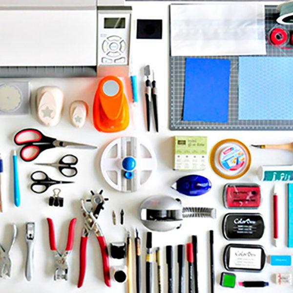50+ Tools und Materialien für Kreative