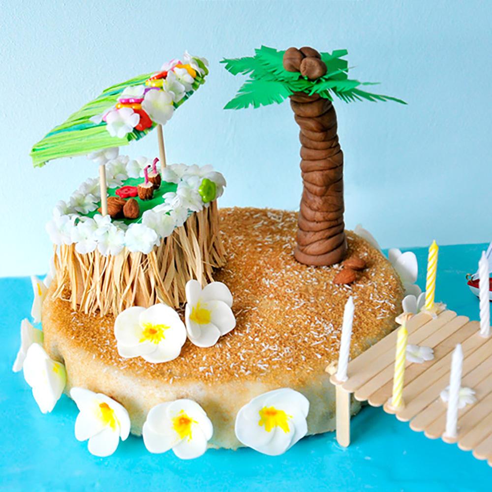 Remarkable Aloha Hawaii Birthday Party Miss Red Fox Funny Birthday Cards Online Inifofree Goldxyz