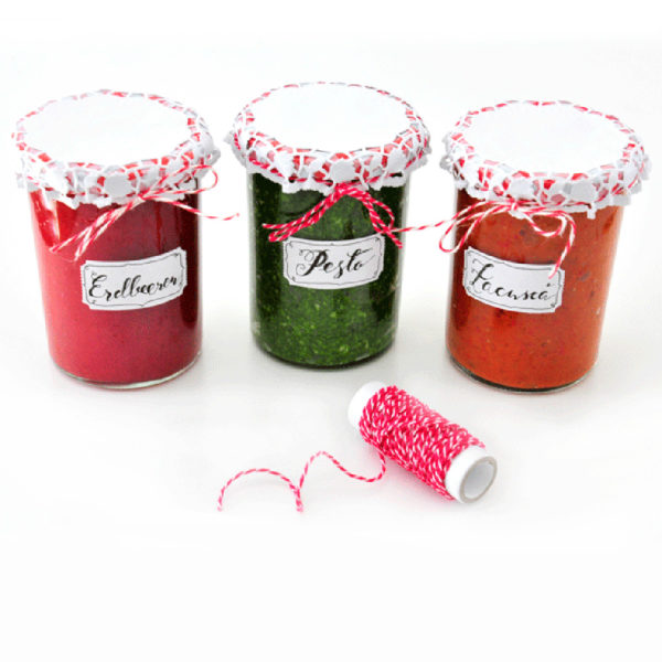 Sommer im Glas – Erdbeermarmelade + Pesto