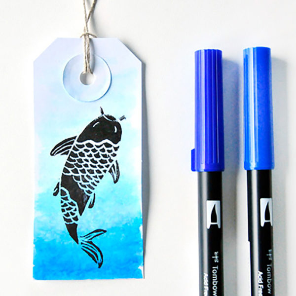 Brush Pen Tags