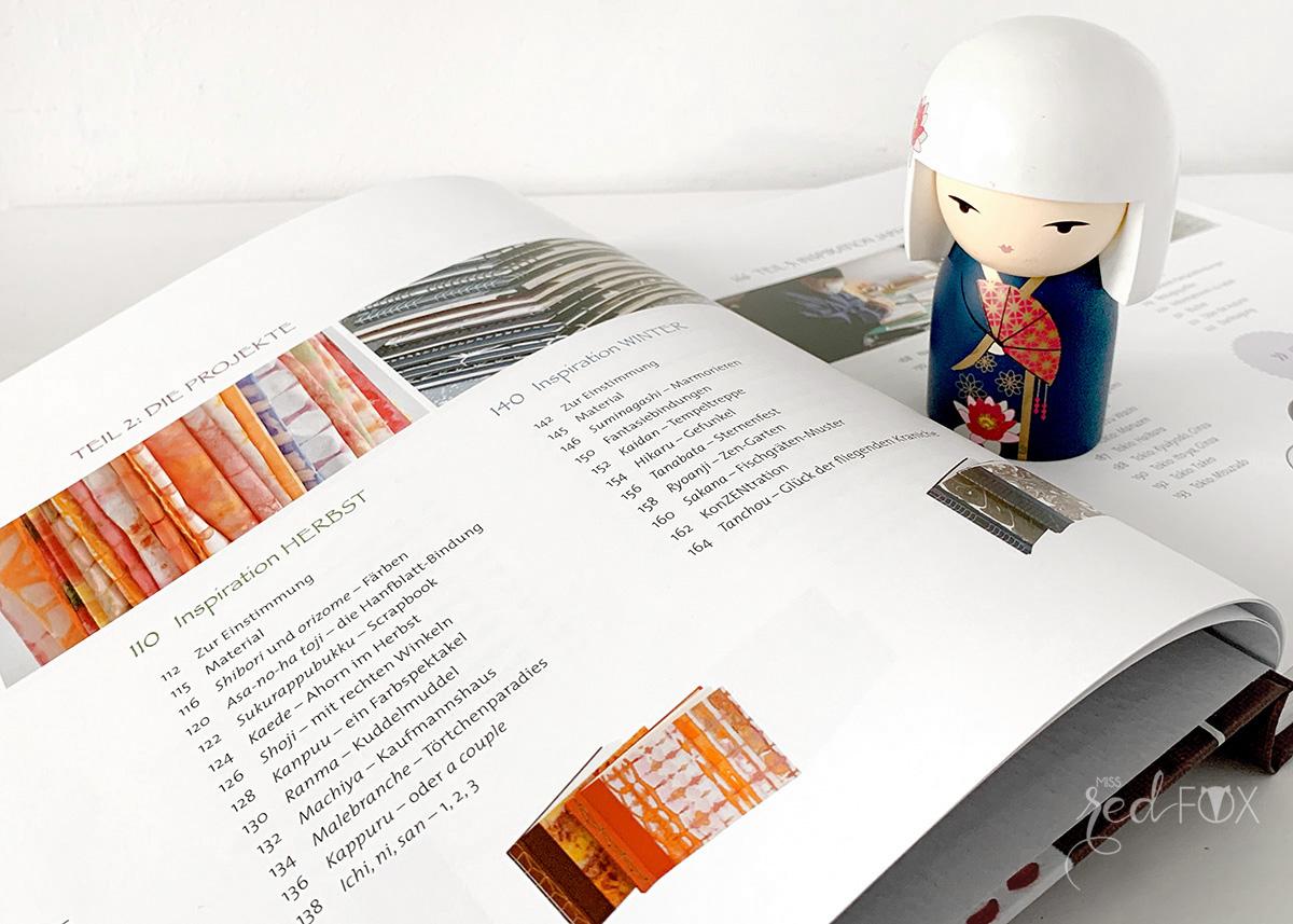 """missredfox - Buch Rezension """"Buchbinden im japanischen Stil"""" - 02"""