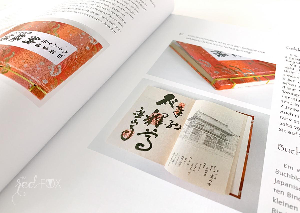 """missredfox - Buch Rezension """"Buchbinden im japanischen Stil"""" - 03"""