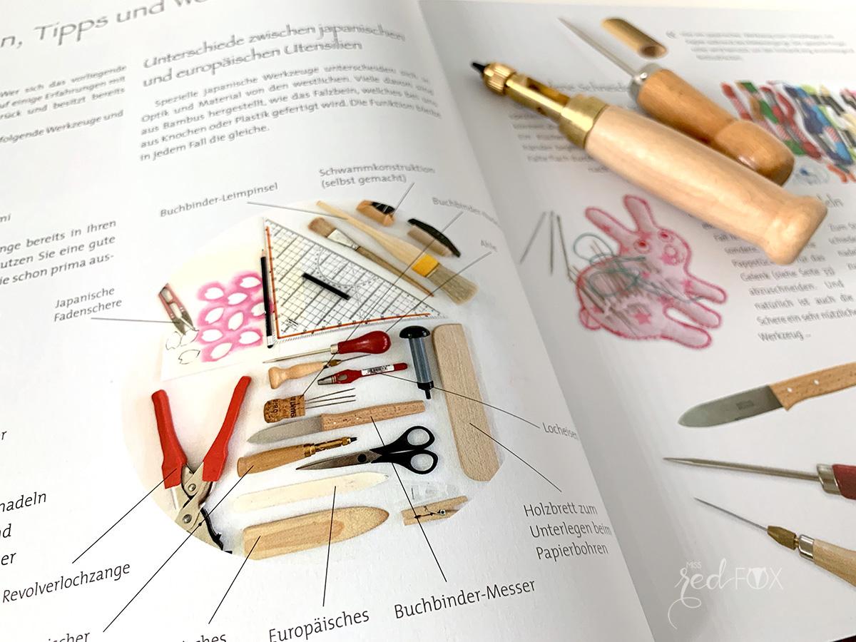 """missredfox - Buch Rezension """"Buchbinden im japanischen Stil"""" - 04"""