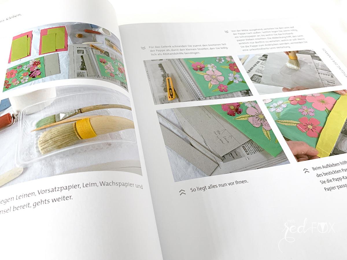 """missredfox - Buch Rezension """"Buchbinden im japanischen Stil"""" - 05"""