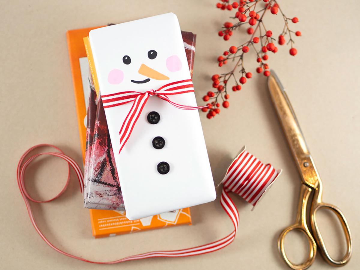 missredfox - 12giftswithlovegoesXMAS - 17 - Johanna Rundel - Last Minute Geschenk - Schokolade im Weihnachtsmann-Kostüm - 02