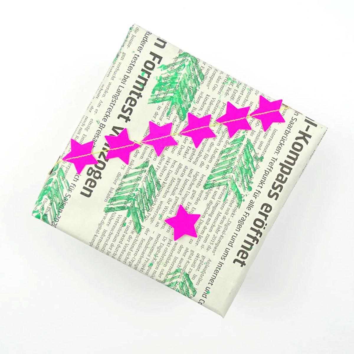 missredfox - 12giftswithlovegoesXMAS - 19 - Dezent Pink - Geschenkverpackung - 01
