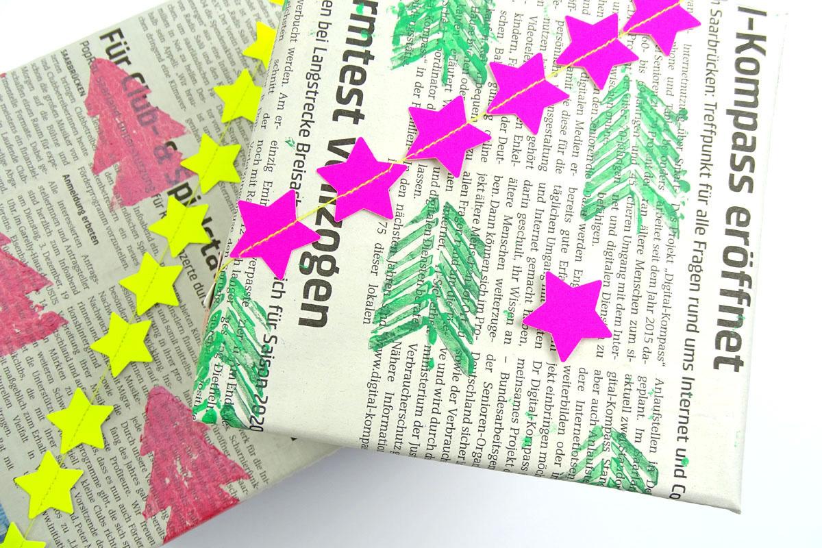 missredfox - 12giftswithlovegoesXMAS - 19 - Dezent Pink - Geschenkverpackung - 02