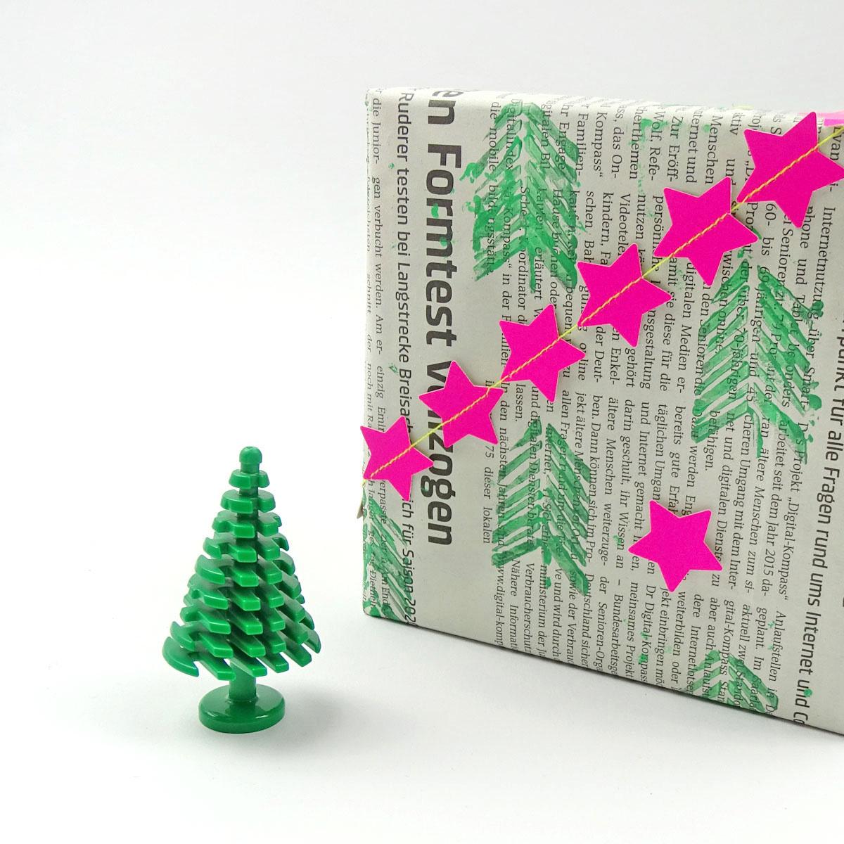missredfox - 12giftswithlovegoesXMAS - 19 - Dezent Pink - Geschenkverpackung - 03