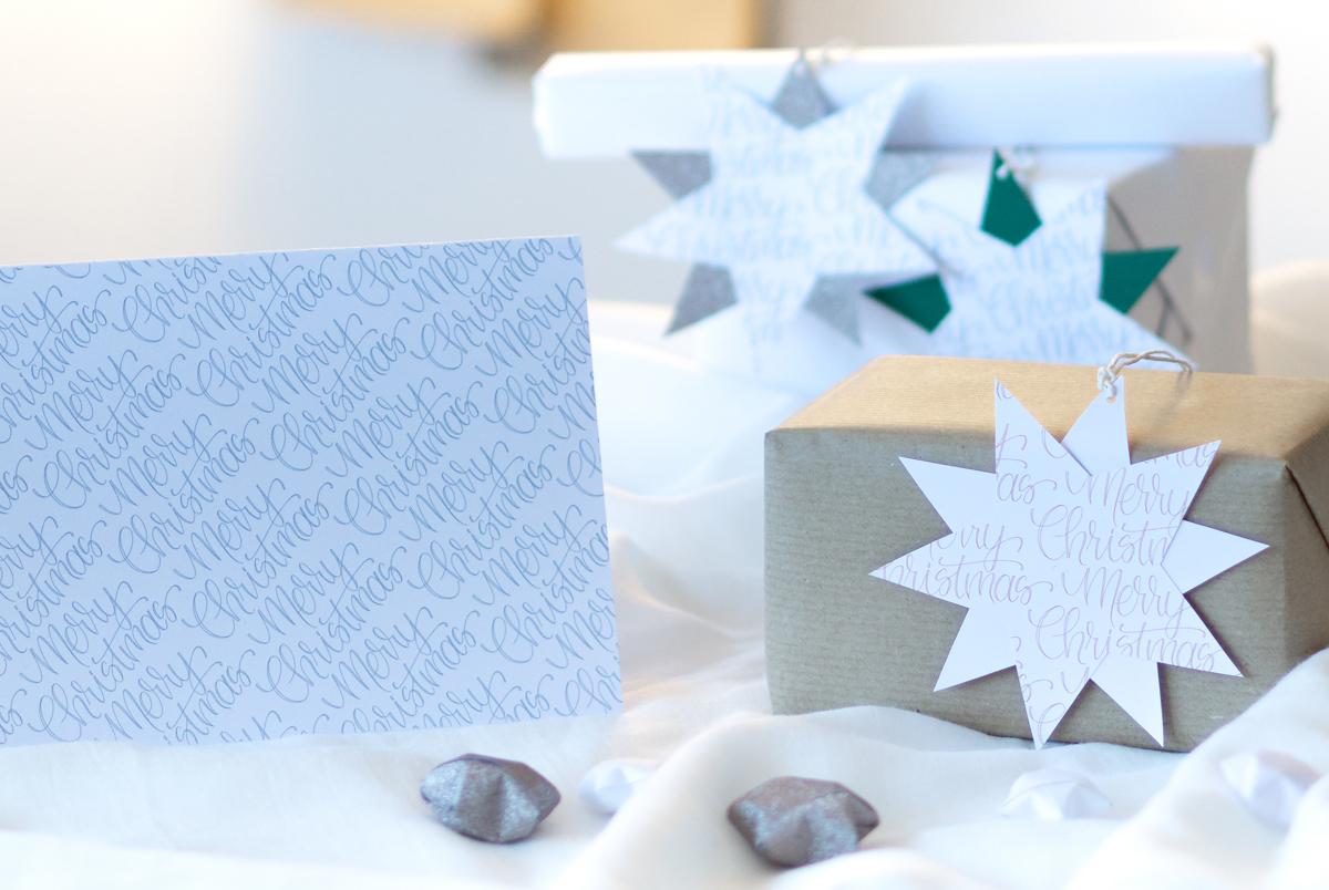 missredfox - 12giftswithlovegoesxmas-21 - Zauber ein Lächeln - Weihnachtskarten mit Geschenkanhänger - 03