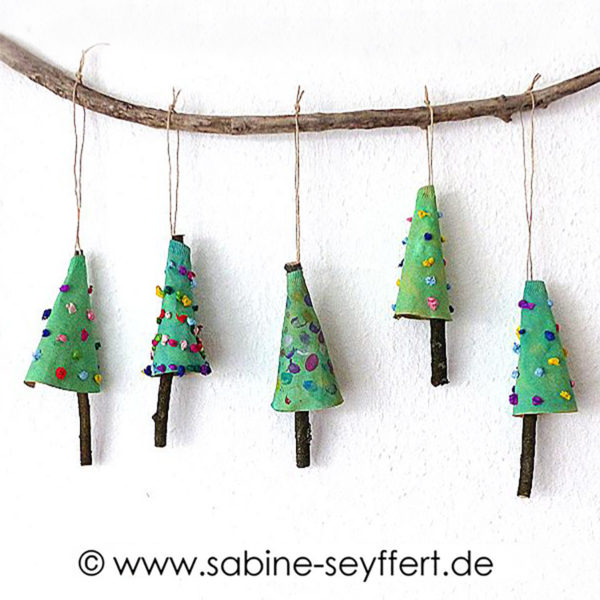 missredfox - 12giftswithlovegoesxmas - Kaffeefilter Tanne - Sabine-Seyffert.de