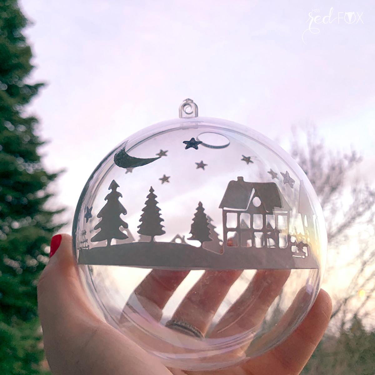 missredfox - Brother ScanNCut SDX1500 - Winter Skyline Weihnachtsbaumkugeln - 09