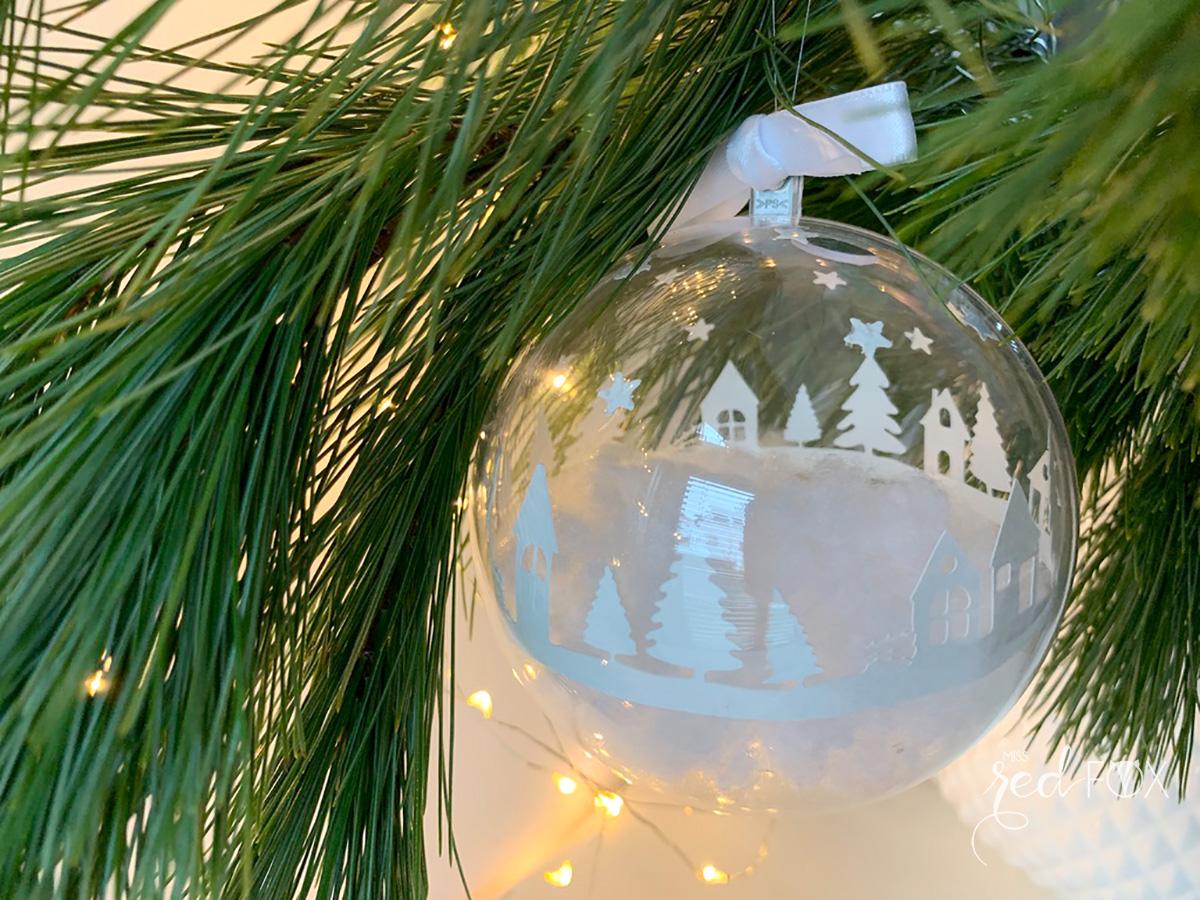 missredfox - Brother ScanNCut SDX1500 - Winter Skyline Weihnachtsbaumkugeln - 14