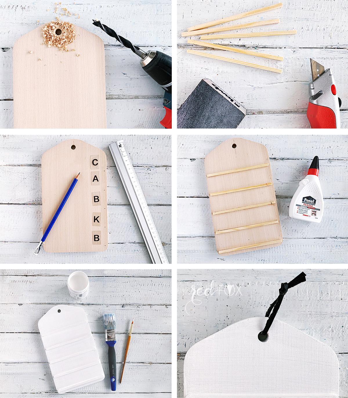 missredfox - 12giftswithlove 03 - Deko - Mini DIY Letterboard - 04