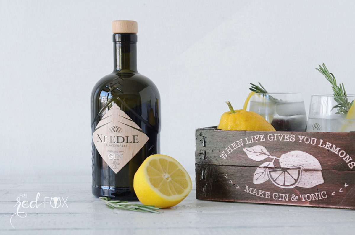 missredfox - Needle Gin - DIY Upcycling Holzbox - 02