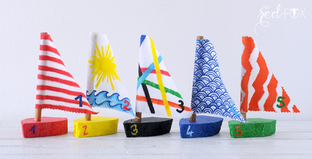 missredfox - PILOT FOR KIDS - DIY Boote und Titanic Plakat - 01