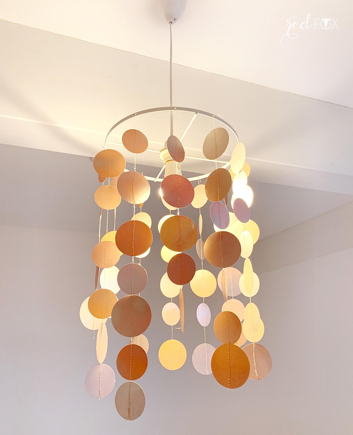 missredfox - Upcycling Kinderzimmer Lampe - 05