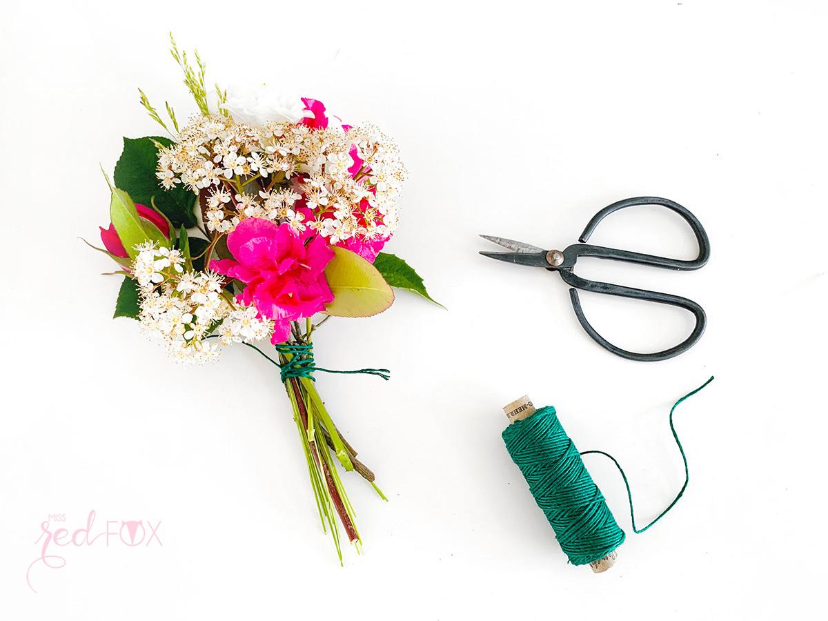 missredfox - 12giftswithlove - 05 - Blumen - Eiswaffel Blumenstrauß - 03