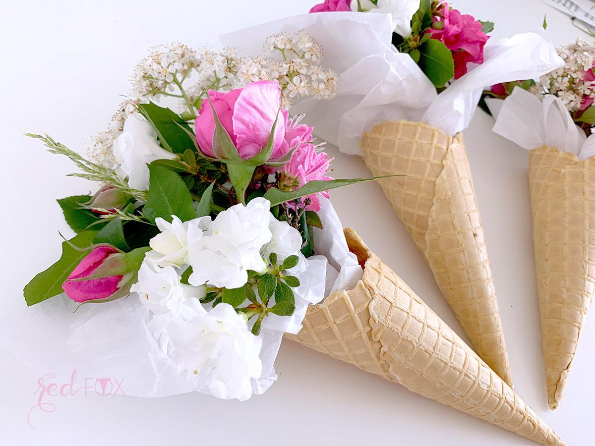 missredfox - 12giftswithlove - 05 - Blumen - Eiswaffel Blumenstrauß - 06