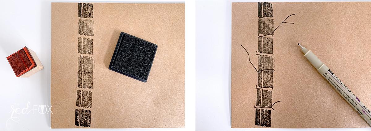missredfox - Mailart - Rico Design - Nature Matters - 05