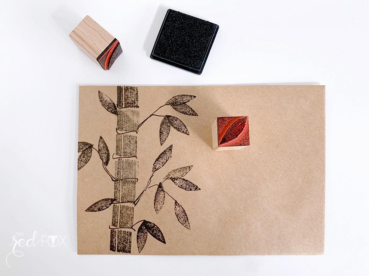 missredfox - Mailart - Rico Design - Nature Matters - 06