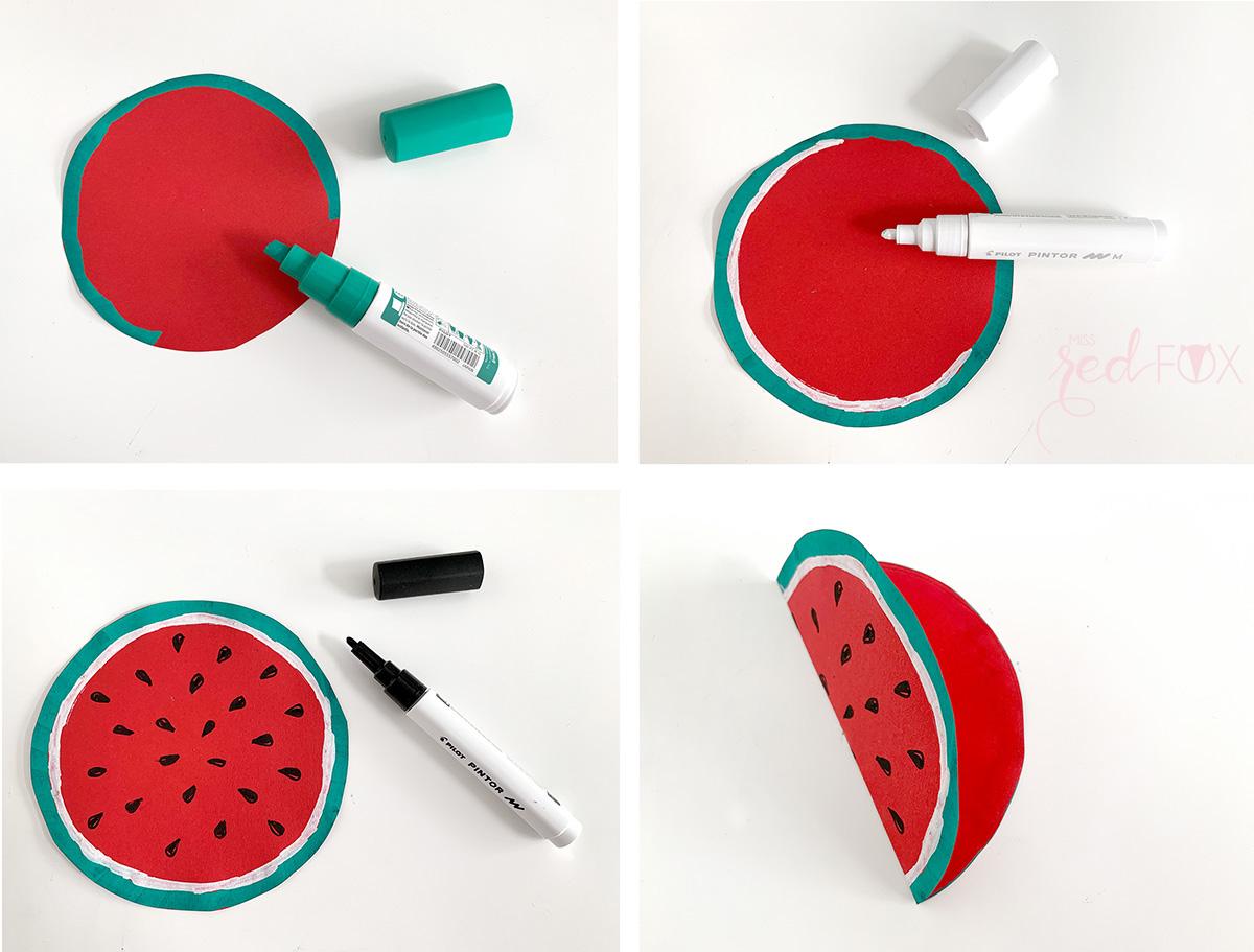 missredfox - 12giftswithlove - Wassermelone - Geschenktüte - 07
