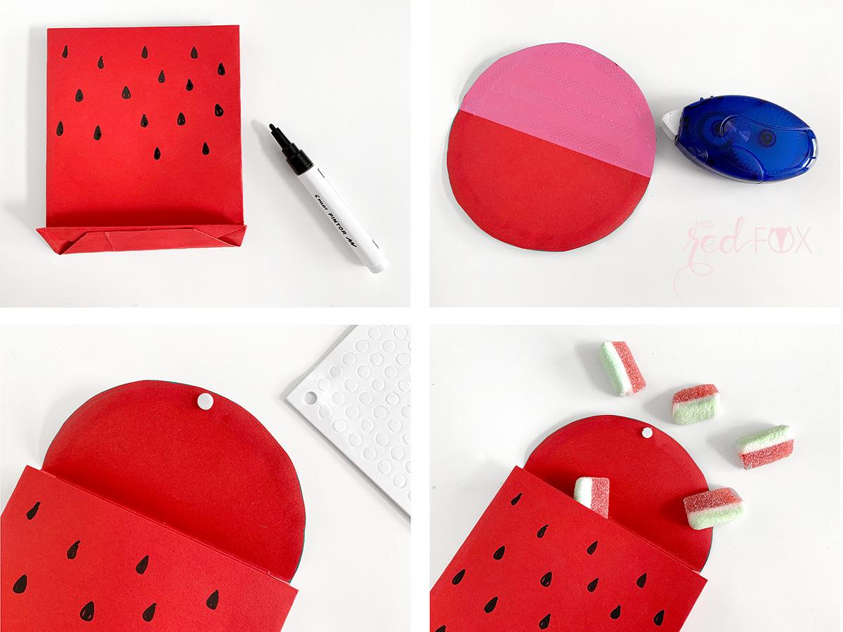 missredfox - 12giftswithlove - Wassermelone - Geschenktüte - 08