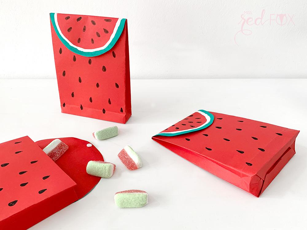 missredfox - 12giftswithlove - Wassermelone - Geschenktüte - 09