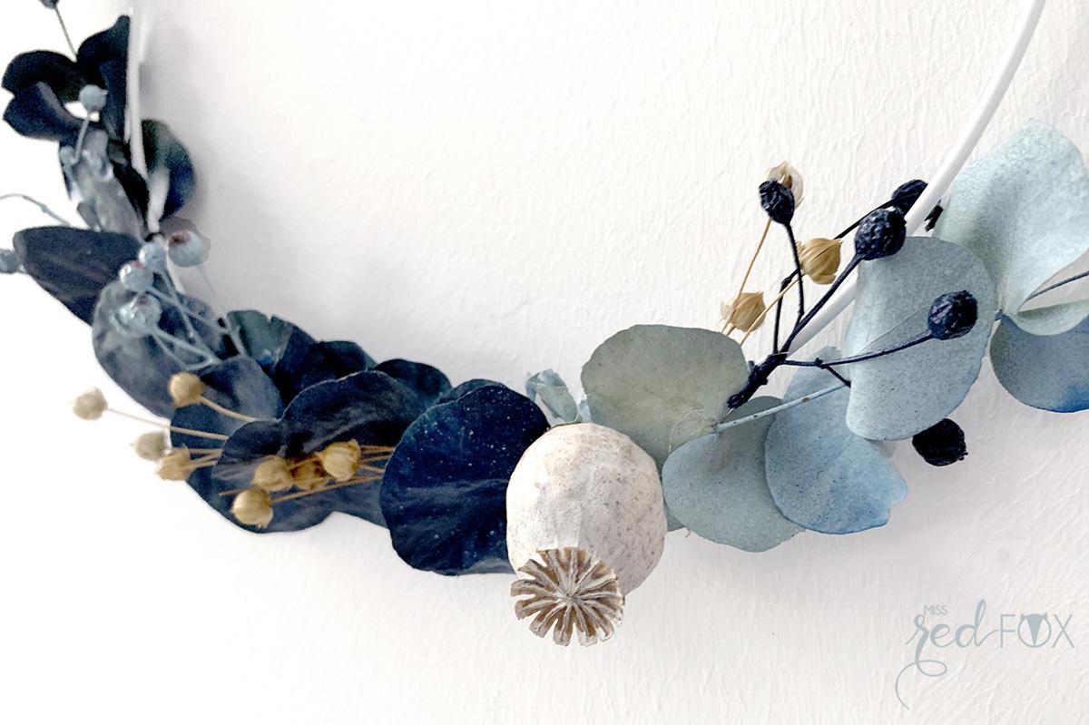 missredfox - 12giftswithlove 10 - Kranz aus trockenen Blumen - 07