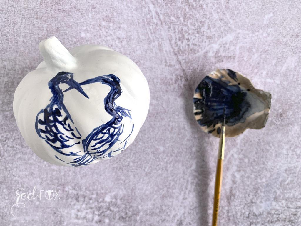 missredfox - Style your Kürbis - Kürbisse mit japanischen Landschaften - 08