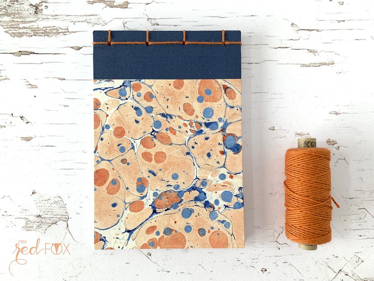 missredfox - Papier marmorieren - Indigo Craftroom Kit - 10