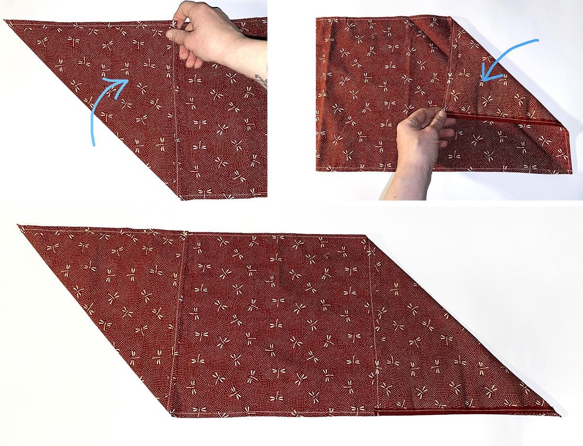 missredfox - 12giftswithlovegoesxmas - 11 - Madamemops - Origami Tasche - 04