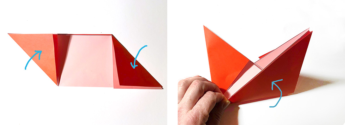missredfox - 12giftswithlovegoesxmas - 11 - Madamemops - Origami Tasche - 06