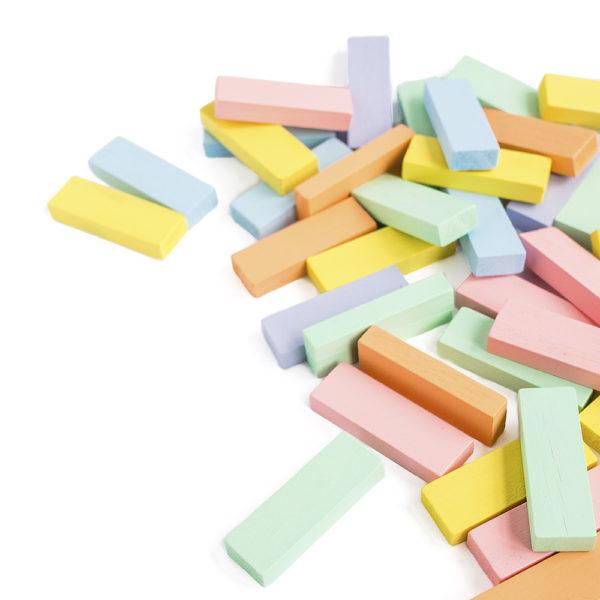 missredfox - 12giftswithlovegoesxmas - 14 - Kathy Loves - Wackelturm aus Holz DIY Kinderspielzeug - Bauklötze selber machen