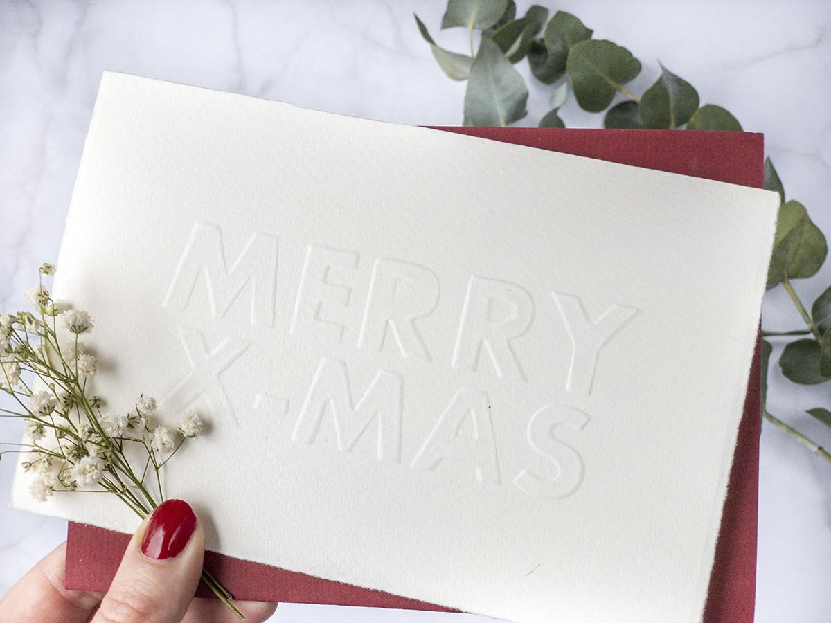 missredfox - 12giftswithlovegoesxmas 16 - abc.doro.t - Letterpress Weihnachtskarte 1