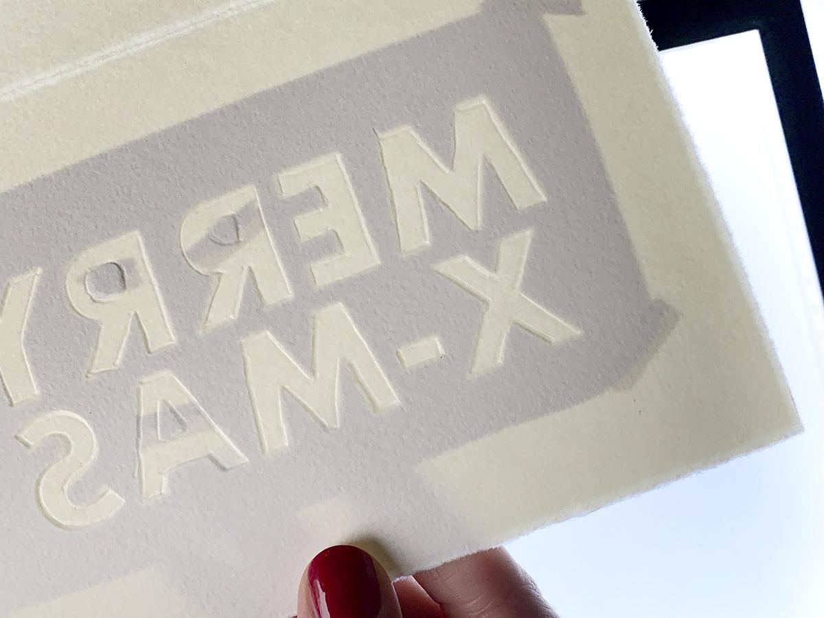 missredfox - 12giftswithlovegoesxmas 16 - abc.doro.t - Letterpress Weihnachtskarte 10