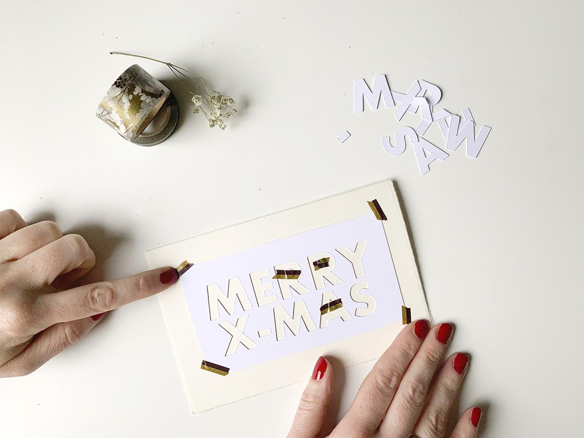 missredfox - 12giftswithlovegoesxmas 16 - abc.doro.t - Letterpress Weihnachtskarte 5