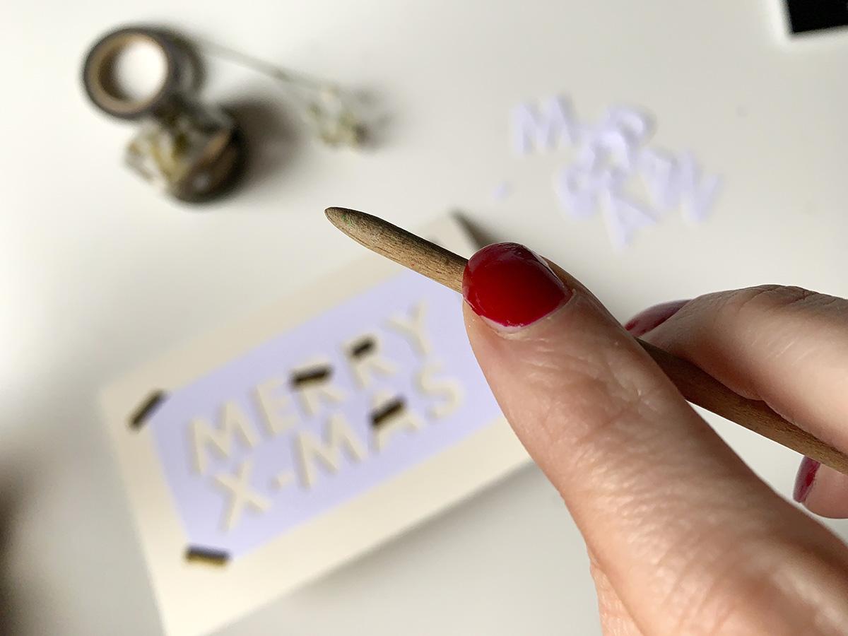 missredfox - 12giftswithlovegoesxmas 16 - abc.doro.t - Letterpress Weihnachtskarte 7