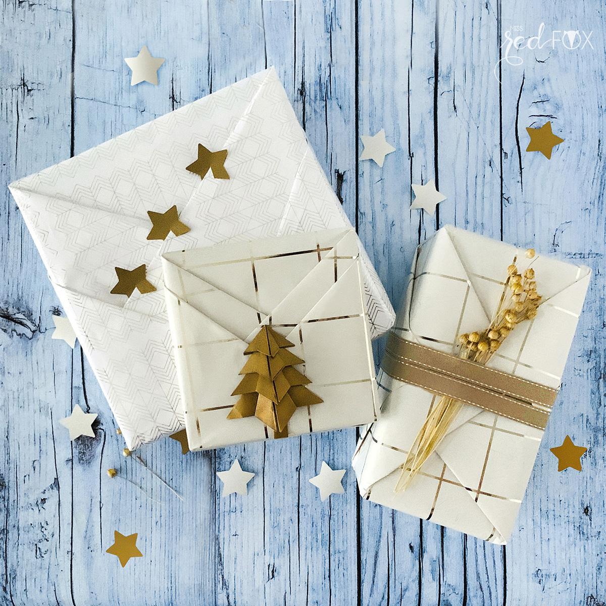 missredfox - 12giftswithlovegoesxmas - 24 - Japanisch inspirierte Geschenkverpackung 1