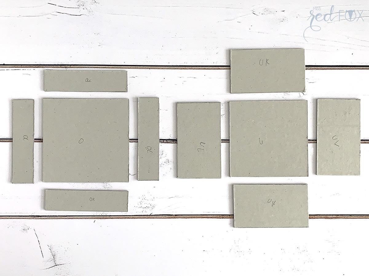 missredfox - Holzkern - Big Sur Uhr - DIY Geschenkbox Schachtel - 04