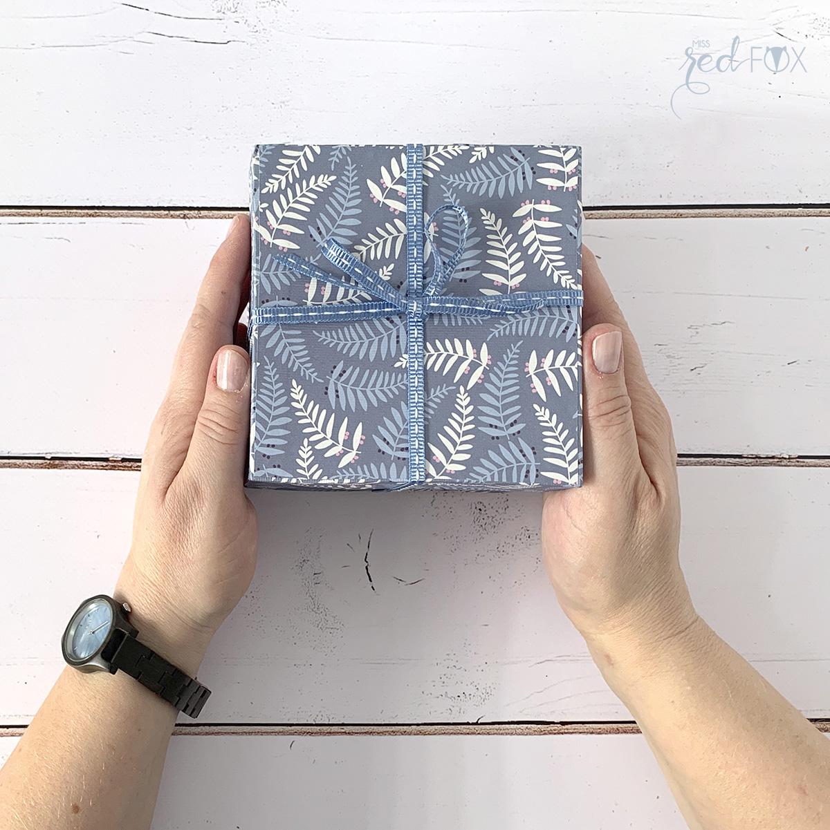 missredfox - Holzkern - Big Sur Uhr - DIY Geschenkbox Schachtel - 17