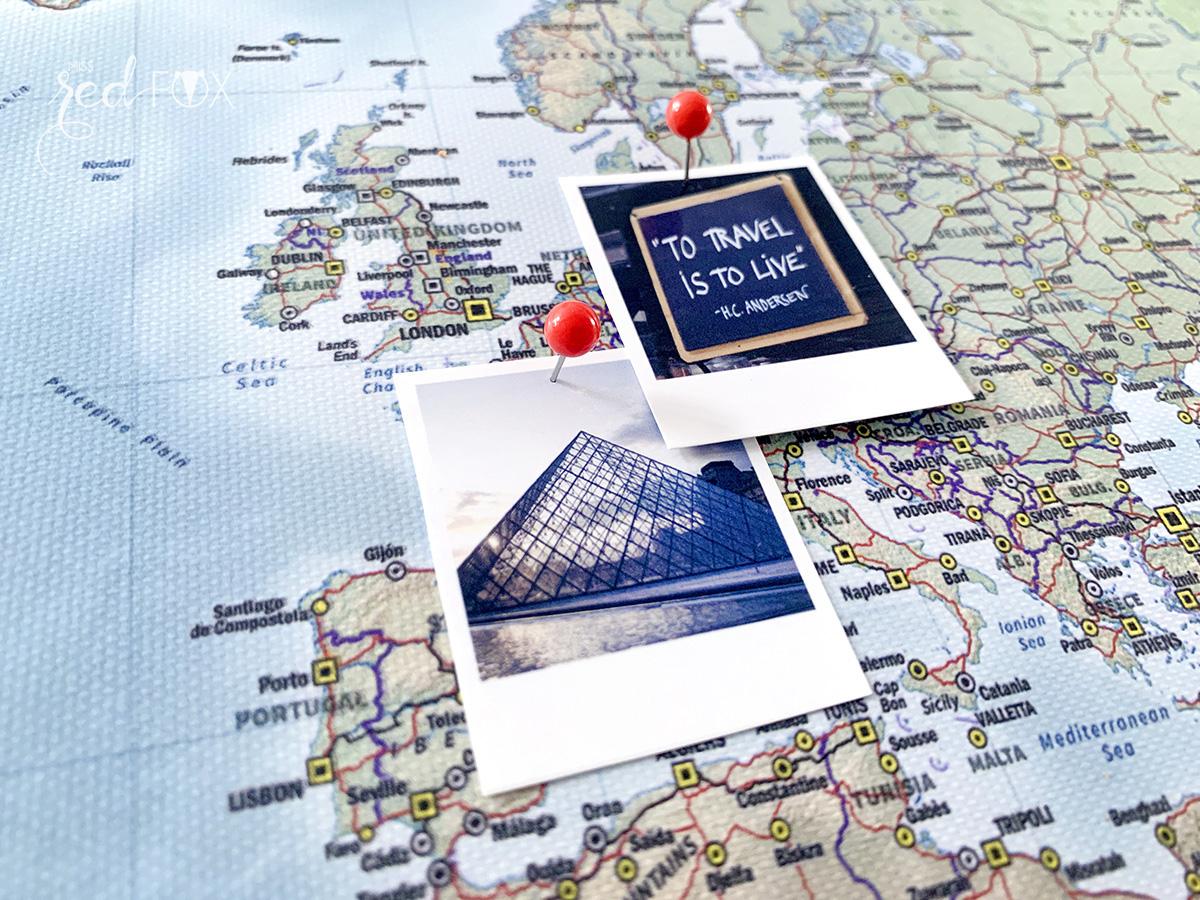 missredfox - MEINFOTO - DIY Pin-Leinwand Weltkarte - 13