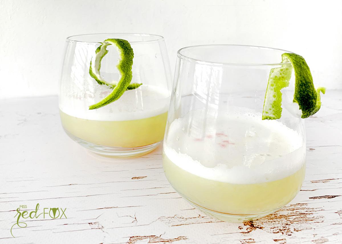 missredfox - Pisco Sour Cocktail - 1