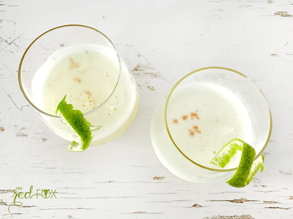 missredfox - Pisco Sour Cocktail - 3