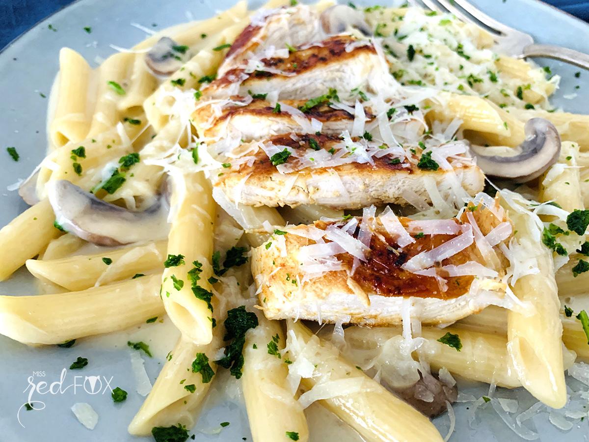 missredfox - Rezept Pasta Chicken Alfredo 2